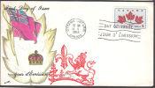 Cov469 Canada 1964, SG542, Canada Unity Day, Maple Leaf FDC - Ersttagsbelege (FDC)