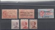 1917 Und 1920 Lot Diverse Marken * KW ? - 1900-44 Victor Emmanuel III.