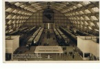 Bruxelles Expo 1935 Vue Intérieure Grand Palais Train - Universal Exhibitions