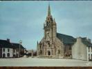 29 - GUERLESQUIN - Eglise Saint-Tenenan - Clocher Du XVI°siècle. (CPSM) - Guerlesquin