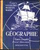 Cours Gallouédec / Maurette / Martin - GÉOGRAPHIE - Brevet élémentaire - Hachette -  ( 1928 ) . - 12-18 Years Old