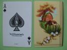 Carte à Jouer Ancienne De Collection  : La Jument Et Son Poulain - Cartes à Jouer Classiques
