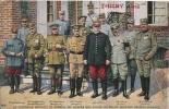 LA NOUVELLE REUNION DU CONSEIL DE GUERRE DES ALLIES AU GRAND QUARTIER GENERAL FRANCAIS - Guerre 1914-18