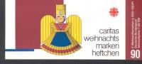 SM - Heftchen Caritas  Mit 5 X Michel Nr. 1487 Weihnachten Rauschgoldengel  Gestempelt  (o50) - Carnets