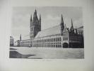 Photo De Jh Et P. Jumpertz.  YPRES.    Les Halles.   Vers 1900-05.    (animée) - Photos