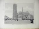 Photo De Jh Et P. Jumpertz.    MALINES.    Cathédrale St-Rombaut & Grand'Place.      1900-05.       (animée) - Photos