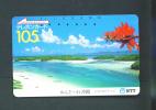 JAPAN  -  Magnetic Phonecard As Scan (390-361) - Japan