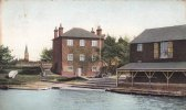 FARNBOROUGH ROAD BOAT HOUSE ALDERSHOT HAMPSHIRE (HAM5874) - Angleterre