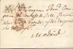 Prefilatelia Carta Dirigida A Madrid Marcas Varias - ...-1850 Vorphilatelie