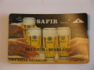 Telefoonkaart Telecard Belgacom Belgique België Belgium Beerland SAFIR Cafe Den Akker Mechelen Bier Bière Mint - Telefonkarten