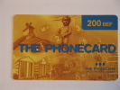 Manneke Pis Prepaid The Phonecard In Touch Telecom Belgium Used - Telefonkarten