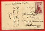 FRANCE CATHEDRALE DE STRASBOURG 1ER JOUR DE 1939 DE STRASBOURG SUR CARTE - Unclassified