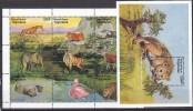 PGL AK175 - TOGO Yv N°1468/76 + BF ** ANIMAUX ANIMALS - Togo (1960-...)