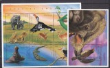 PGL AK176 - TOGO Yv N°1498A/J + BF ** ANIMAUX ANIMALS - Togo (1960-...)