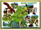 46 Balade En Quercy ( Champollion, Chataignes, Champignons Truffes, Gourdon, Souillac, Cahors ) - Francia