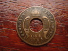 BRITISH EAST AFRICA USED ONE CENT COIN BRONZE Of 1922 ´H´. - Afrique Orientale & Protectorat D'Ouganda