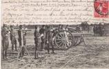 ECOLES A FEU PIECES DE 75 CONCOURS DE TIR PREMIERE PIECE PRET ! 1908 - Manovre
