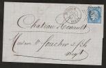 Etoile 29 /N°60 PARIS R. PASCAL 28 AOUT 1872   SUPERBE   Ind 12 - 1849-1876: Classic Period