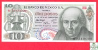 Mexico 10 Pesos 1971 - UNC- Banknote / Mexique / Billet - Papier Monnaie - Mexique