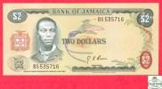Jamaica 2 Dollars  Sign #4 - EF/AU - Banknote / Jamaique / Billet - Papier Monnaie - Jamaique