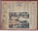 CALENDRIER - ALMANACH Des Postes Et Des Télégraphes De 1925 - Calendriers