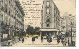 CPSM FRANCE  92  BOIS COLOMBES  Rue Et Place Centrale - France