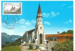 France: Carte Souvenir Jean- Paul II (Visite En France - Oblit.  Annecy) - Papes