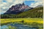 Mount Eisenhower Banff National Park Alberta Canada - Banff