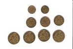 Petit Lot De Monnaies , Commerce Industrie - Monedas & Billetes
