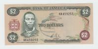 Jamaica 2 Dollars 1982 -1986 UNC NEUF P 65b  65 B Signature 7 - Jamaica