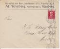 Freistaat Bayern 1919 Nurnberg Brief Cover Maschinenstempel #13675 - Bavaria
