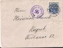 Austria 1938 Envelope With 60 Gr. Stamp, Vienna To ZAGREB, Cancel Relating HITLER's Visit Of Vienna - 1918-1945 1. Republik