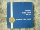 CONTENITORE DELLA SERIE DI SAN MARINO DEL 1972 - SOLO SCATOLINA NON MONETE - - Materiale