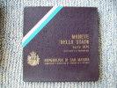CONTENITORE DELLA SERIE DI SAN MARINO DEL 1974 - SOLO SCATOLINA NON MONETE - - Materiale