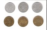 Petit Lot De Monnaies De 2 Franc - Monedas & Billetes