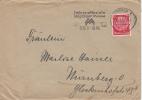 GERMANY DEUTSCHES REICH 1937 Bremen Brief Cover Leipziger Messe Maschinenstempel #13718 - Allemagne
