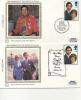 BENHAM SILK COVERS - FDC - 1981 ROYAL WEDDING - FDC