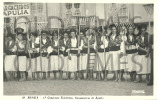 PORTUGAL - BRAGA - 1º CONGRESSO FOLCLORICO - SARAGACEIRAS DE APULIA - 1950 REAL PHOTO PC - Santarem