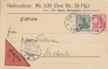 DR NN-Karte Mif Minr.85I,86I Ampen16.12.08 - Deutschland