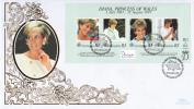 Seychelles FDC Scott #802 Sheet Of 4 Diana Princess Of Wales - Seychelles (1976-...)