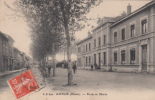 AMPUIS - école Et Mairie 1912 (animée TBE) Dép69 - Unclassified
