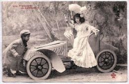 CPA - Fantaisie Enfants -  Une Promenade En Automobile - Kinder