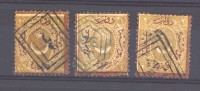 Turquie  -  Taxes  :  Mi  11 A - 13 A  (o) - 1921-... République