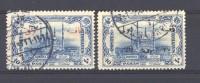 Turquie  -  Taxes  :  Mi  41-42  (o) - 1921-... République