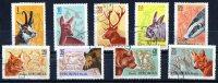 Romania 1961 Forest Animals 9 Values - Oblitérés