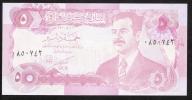 IRAQ  P80c  5   DINARS    1992    UNC. - Iraq