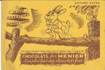 BUVARD - CHOCOLATS FINS MENIER - Chocolat