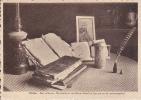 Oolen, Een Stilleven:  De Beeltenis Van Keizer Karel Bij Zijn Pot En De Namenregisters - 1943 - Olen