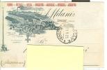 MILANI, CONSELVE, CARTOLINA COMMERCIALE VIAGGIATA  1925,  PER LUGO, - Padova (Padua)