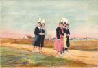 LA BELLE BRETAGNE.  Jeunes Filles De Pont- Labbé..  No 1. A. Brouillot.    Animation. - Unclassified